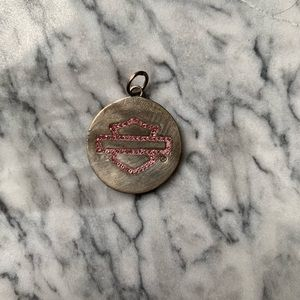 small harley davidson necklace pendant